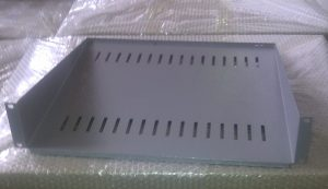 Front mount tray